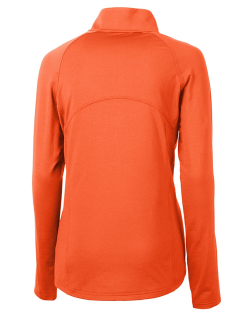 Cutter & Buck Adapt Eco Knit Stretch Recycled Womens Half Zip Pullover CLO_MANNB_HG 1