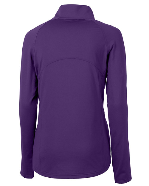 Cutter & Buck Adapt Eco Knit Stretch Recycled Womens Half Zip Pullover CLP_MANNB_HG 1
