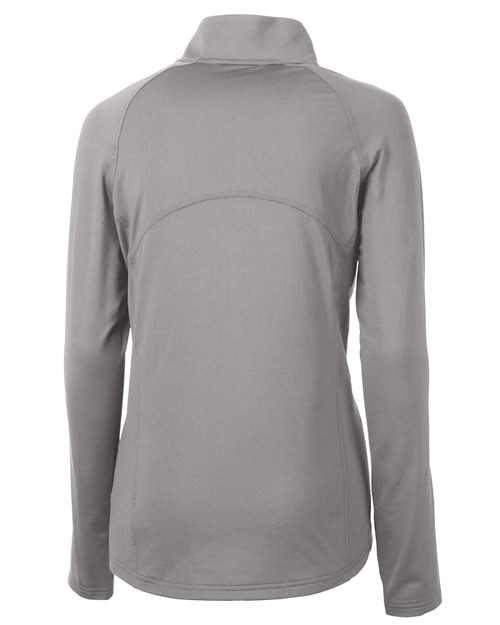 Cutter & Buck Adapt Eco Knit Stretch Recycled Womens Half Zip Pullover POL_MANNB_HG 1