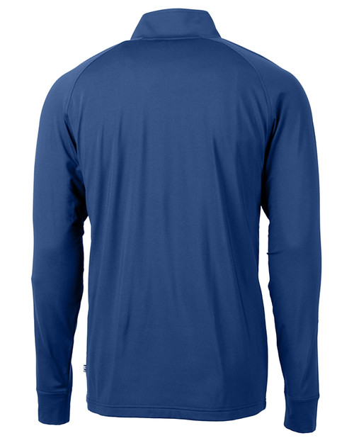 Cutter & Buck Adapt Eco Knit Stretch Recycled Mens Big and Tall Quarter Zip Pullover TBL_MANNB_HG 1