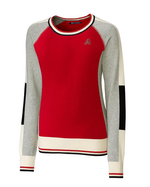 Arizona Diamondbacks Ladies Stride Colorblock Sweater