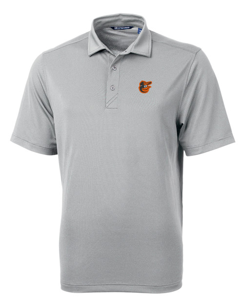 Baltimore Orioles Cutter & Buck Virtue Eco Pique Recycled Mens Big and Tall Polo POL_MANN_HG 1