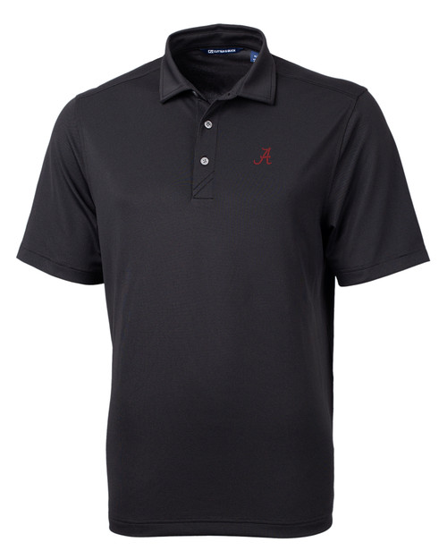 Alabama Crimson Tide Cutter & Buck Virtue Eco Pique Recycled Mens Big and Tall Polo BL_MANN_HG 1