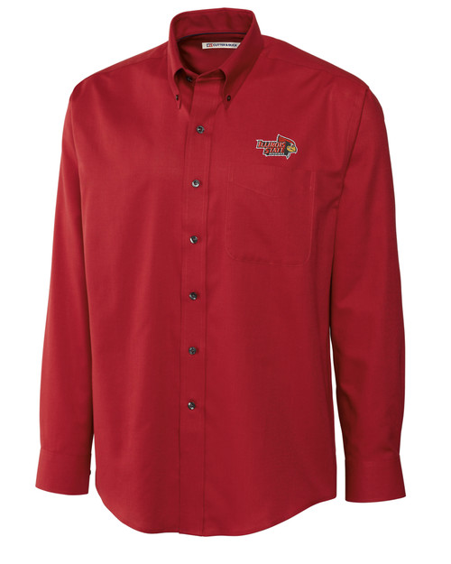 ISU Redbirds Men's L/S Epic Easy Care Nailshead