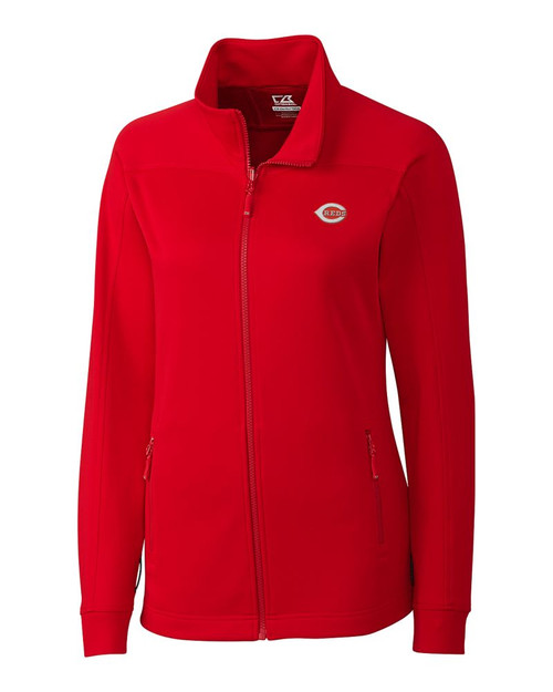 Cincinnati Reds  Ladies Peak Full Zip