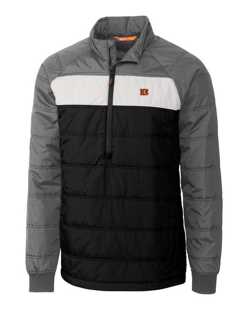 Cincinnati Bengals CBUK Thaw Insulated Packable Pullover BL_MANN_HG 1
