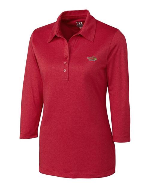ISU Redbirds Women's CB DryTec 3/4 Sleeve Chelan Polo 1