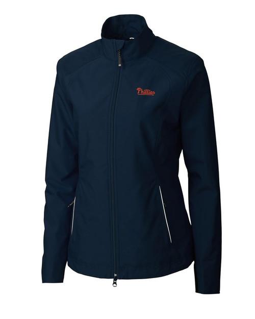 Philadelphia Phillies Women's CB WeatherTec Beacon Full Zip Jacket 1