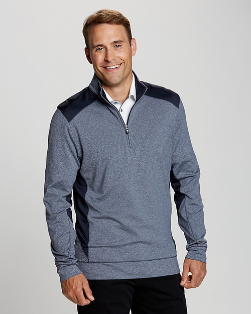 Shoreline Colorblock Half-Zip