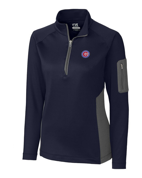 Chicago Cubs  Ladies Shaw Hybrid Half Zip