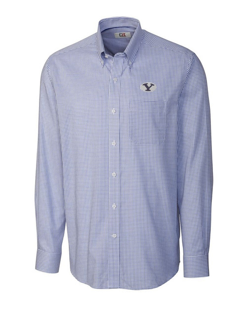 BYU Cougars B&T L/S Epic Easy Care Tattersall