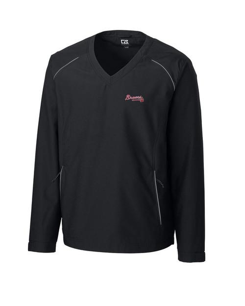 Atlanta Braves CB WeatherTec Beacon V-neck Windshirt
