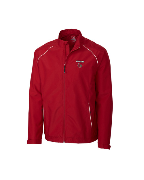 Louisville Cardinals B&T CB WeatherTec Beacon Full Zip Jacket