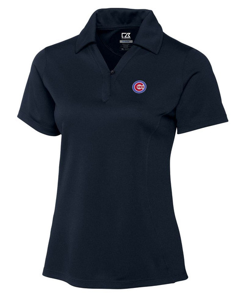 Chicago Cubs Women's CB DryTec Genre Polo