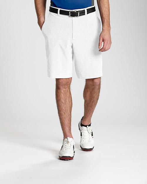 White Bainbridge Flat Front Short 1