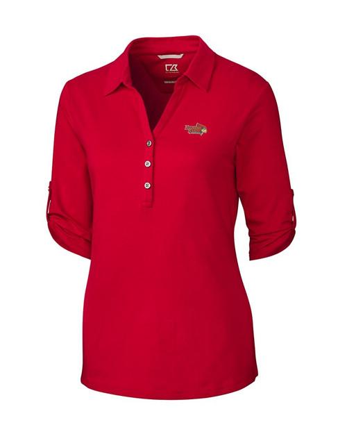 ISU Redbirds Women's E/S Thrive Polo