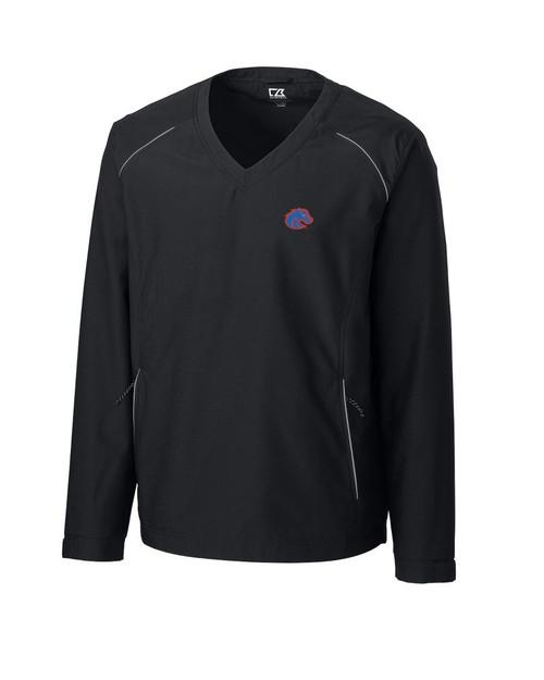 Boise State Broncos  CB WeatherTec Beacon V-neck Windshirt