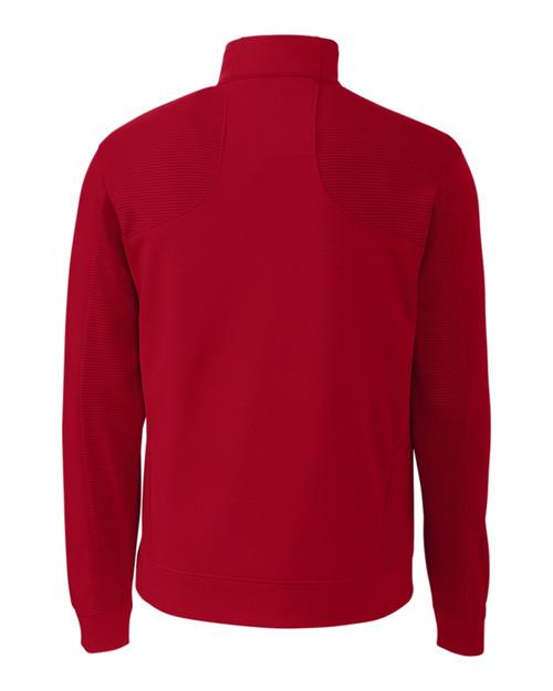 Edge Half Zip in red