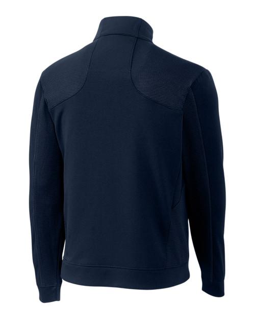 Edge Half Zip in navy blue
