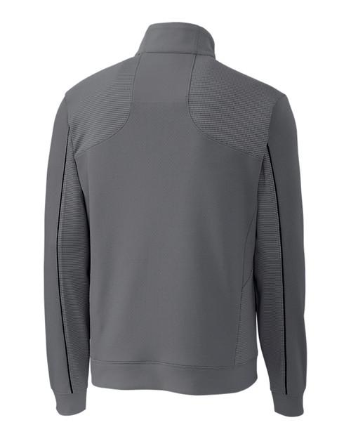Edge Half Zip in gray