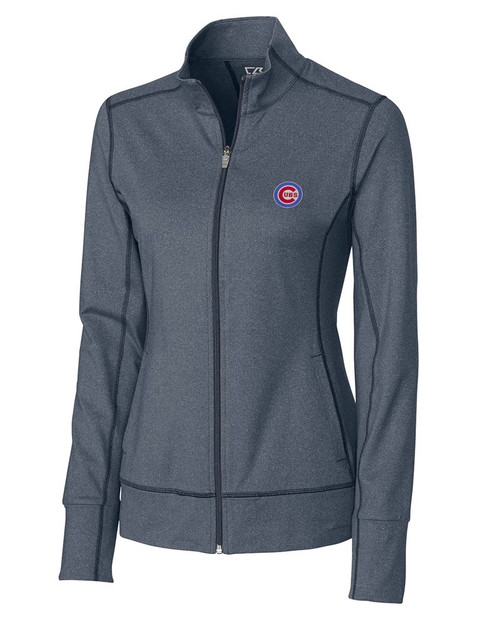 Chicago Cubs  Ladies Topspin Full Zip