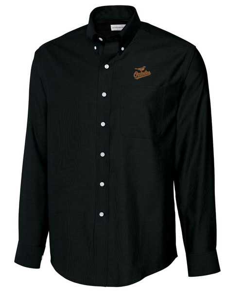 Baltimore Orioles B&T L/S Epic Easy Care Royal Oxford Shirt 1