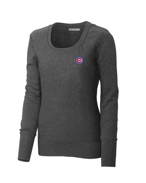 Chicago Cubs Women's Broadview Scoop Neck Sweater