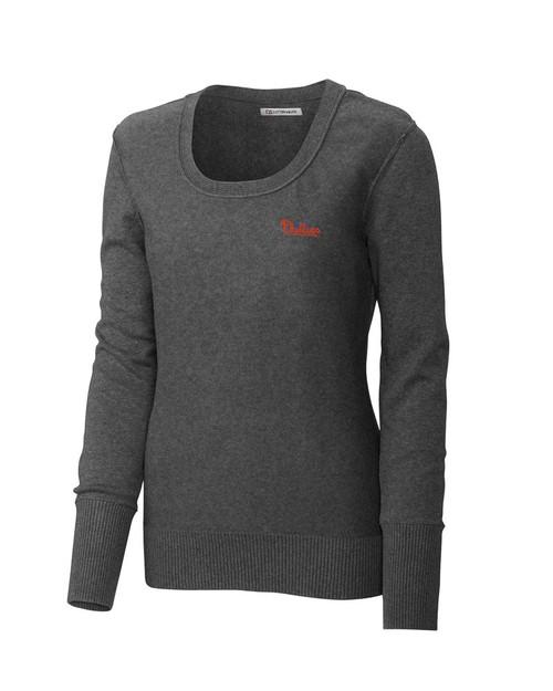 Philadelphia Phillies Women's Broadview Scoop Neck Sweater 1