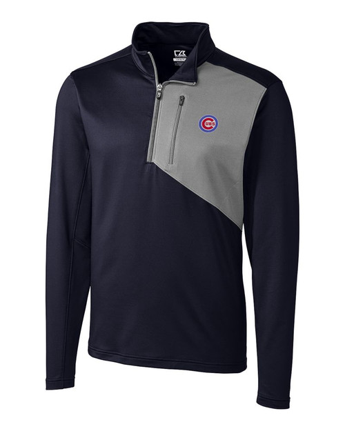 Chicago Cubs  Shaw Hybrid Half Zip