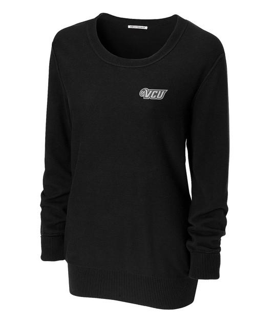 VCU Rams Women's Broadview Scoop Neck Sweater 1
