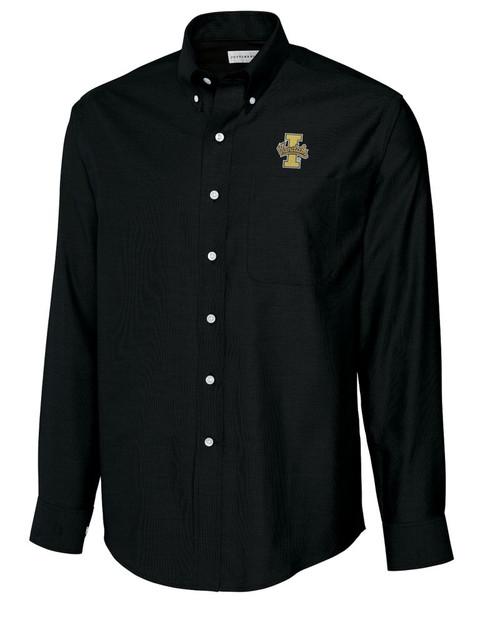 Idaho Vandals B&T L/S Epic Easy Care Royal Oxford Shirt