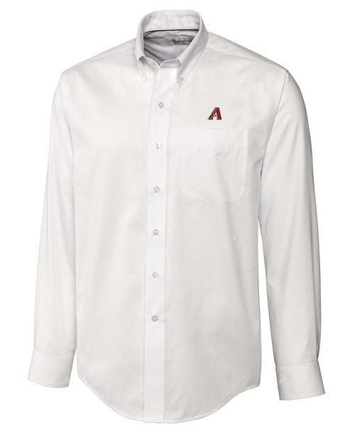 Arizona Diamondbacks B&T L/S Epic Easy Care Royal Oxford Shirt
