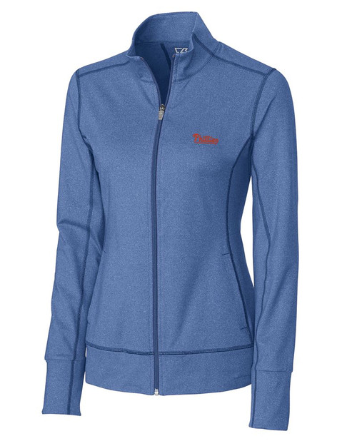 Philadelphia Phillies  CB DryTec Ladies Topspin Full Zip