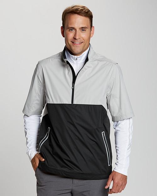 Fairway Short Sleeve Half-Zip Waterproof Jacket