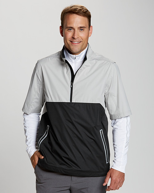 Fairway Short Sleeve Half-Zip Jacket