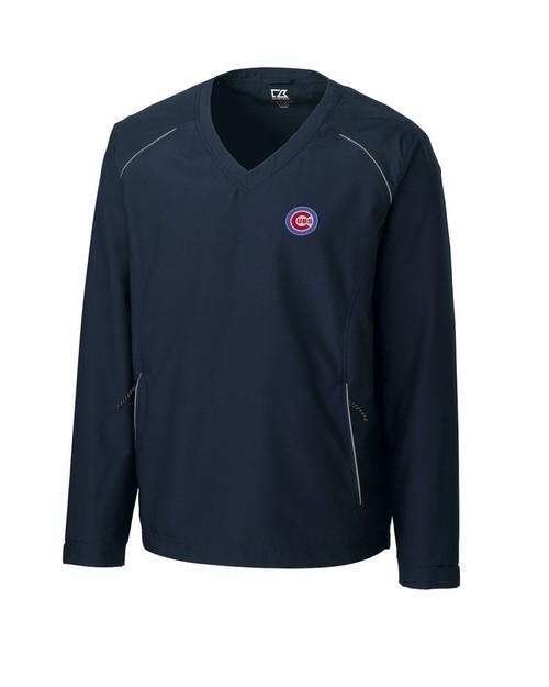 Chicago Cubs  CB WeatherTec Beacon V-neck Windshirt