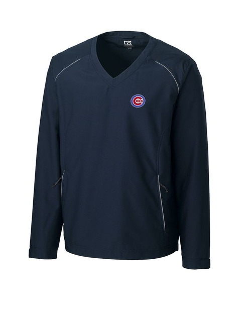 Chicago Cubs  CB WeatherTec Beacon V-neck Windshirt