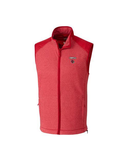 Louisville Cardinals Cedar Park Full Zip Vest