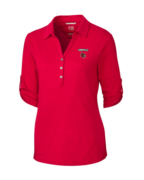 Louisville Cardinals Ladies' Thrive Polo