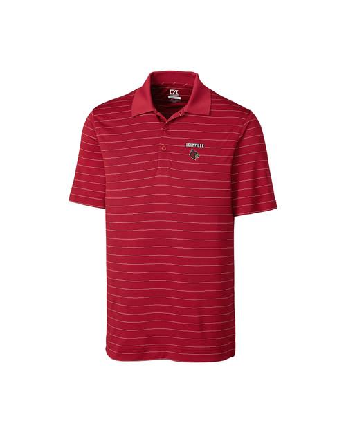 Louisville Cardinals B&T Franklin Stripe Polo