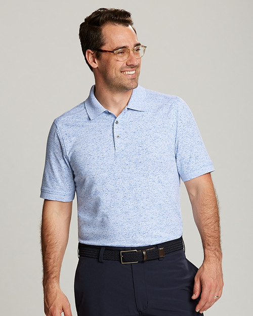 Men's Advantage Polo Space Dye  1