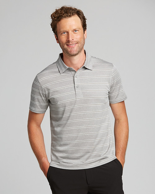 Forge Polo Heather Stripe Tailored fit 1