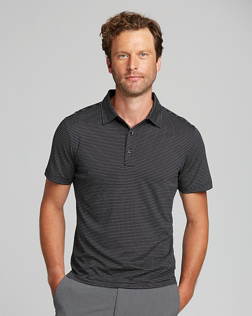 Forge Polo Pencil Stripe Tailored Fit   1