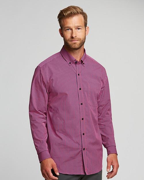 Big & Tall Anchor Gingham Shirt