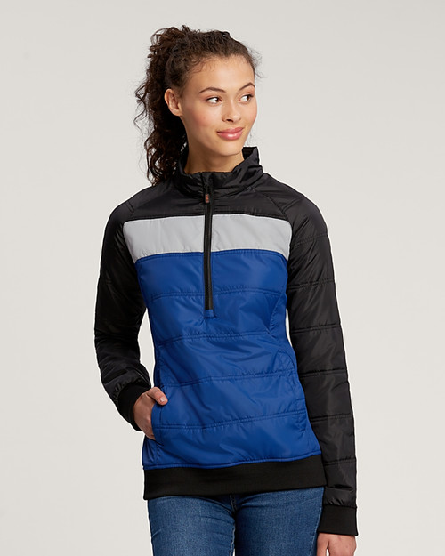 CBUK Ladies' Thaw Insulated Packable Half-Zip