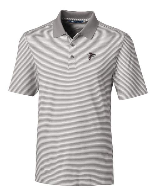 Atlanta Falcons B&T Forge Polo Tonal Stripe