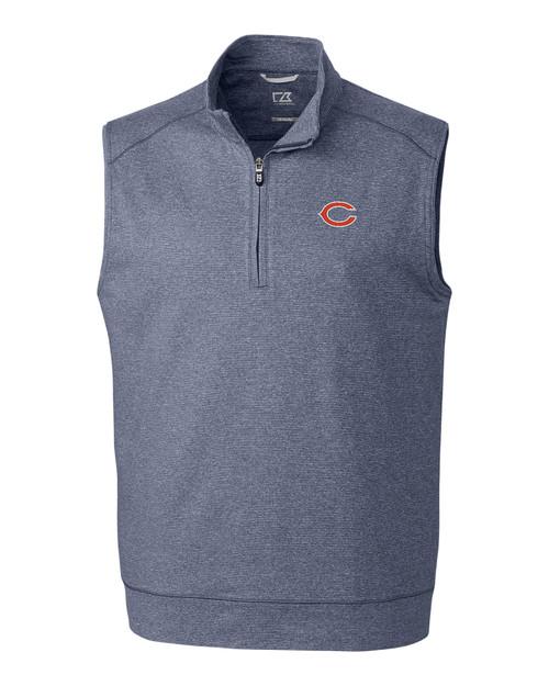 Chicago Bears B&T Shoreline Half Zip Vest