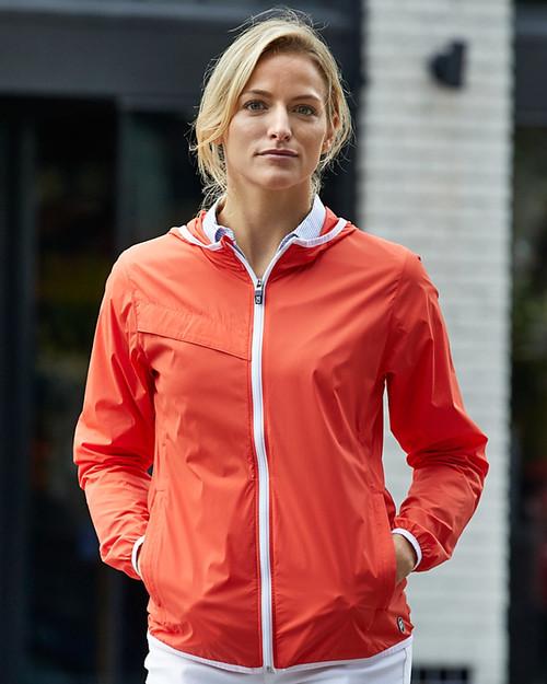 Ladies' Breaker Hooded Jacket 1