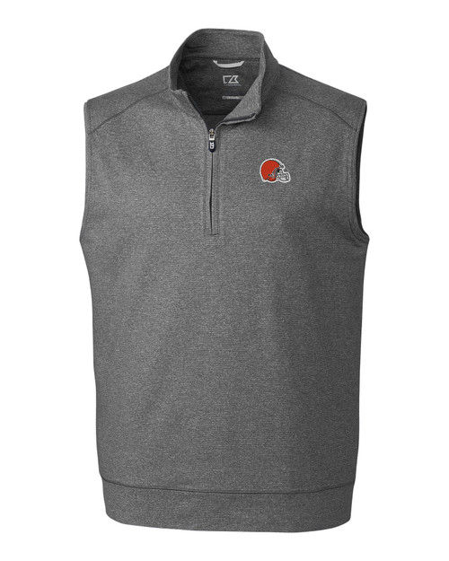 Cleveland Browns B&T Shoreline Half Zip Vest