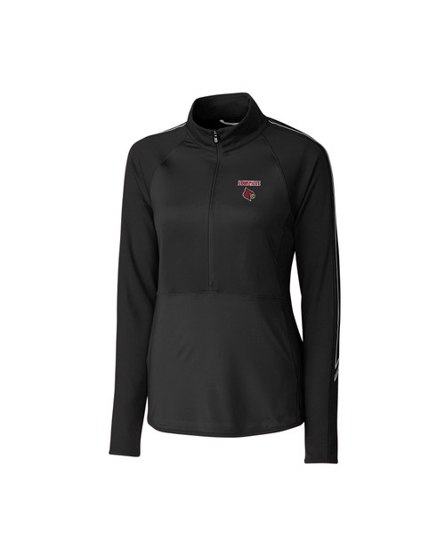 Louisville Cardinals Ladies' Pennant Sport Half-Zip